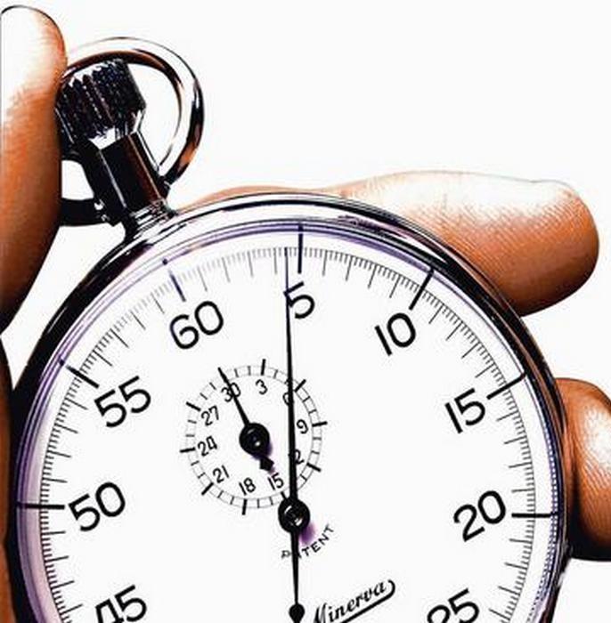 Stoppeklokke for trening